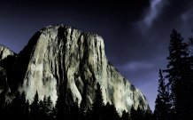 Yosemite National Park After Dark