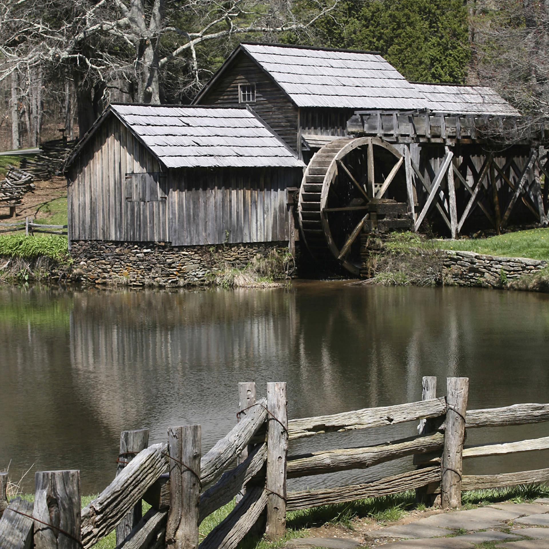 Mabry Mill in Shenandoah National Park