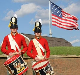 Fort McHenry. Photo courtesy of National Park Service