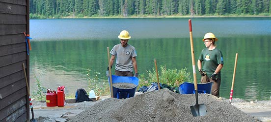 youth, 21st century conservation corps, glacier national park