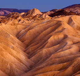 Sand dunes in Death Valley National Park