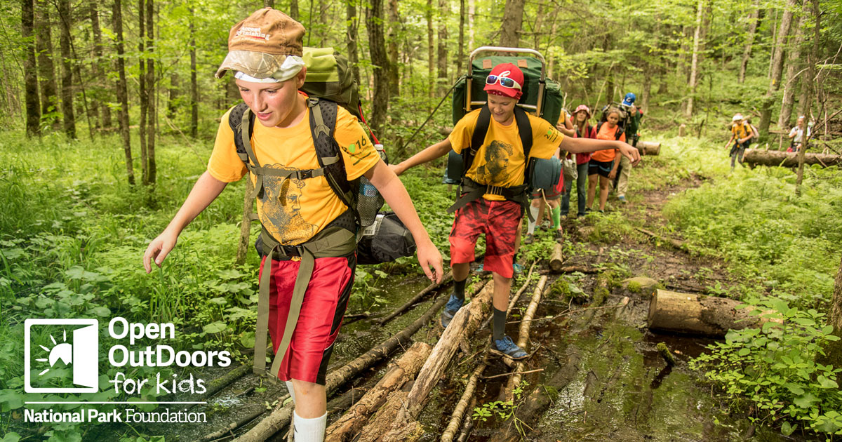National Park Foundation To Connect Over 200 000 Children With National Park Experiences Through 2 3 Million Plus Support National Park Foundation