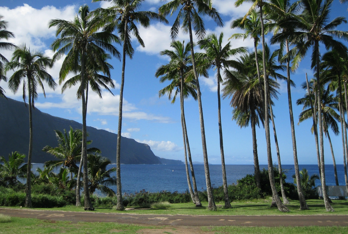 Beautiful scenery at Kalaupapa National Park