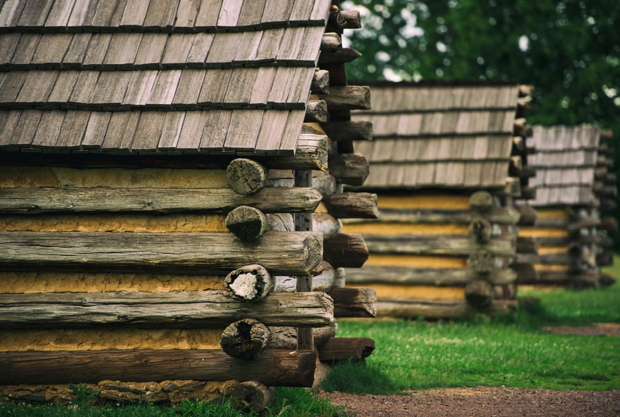 Cabins at Valley Forge National Historical Park