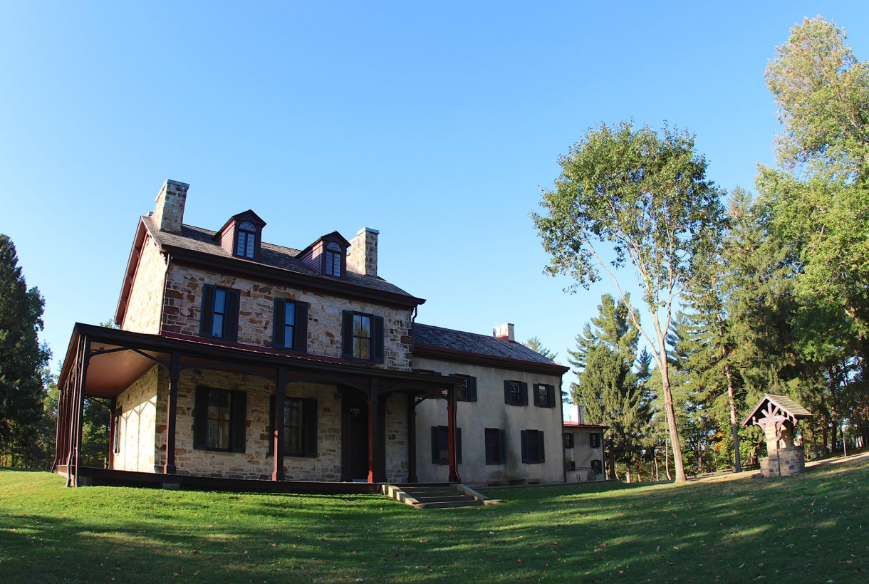 Friendship Hill house