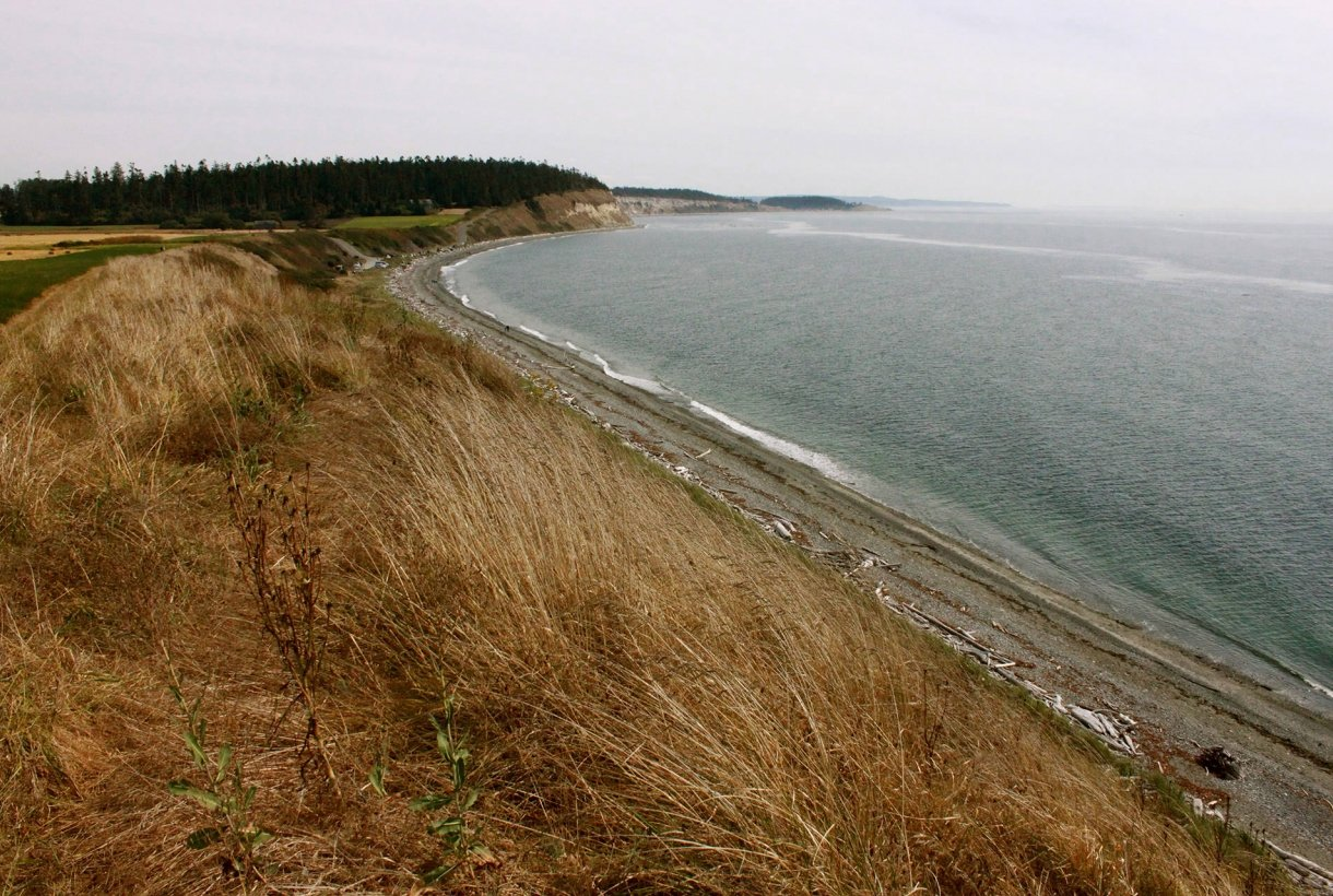 Seashore at Ebey's Landing National Historical Reserve