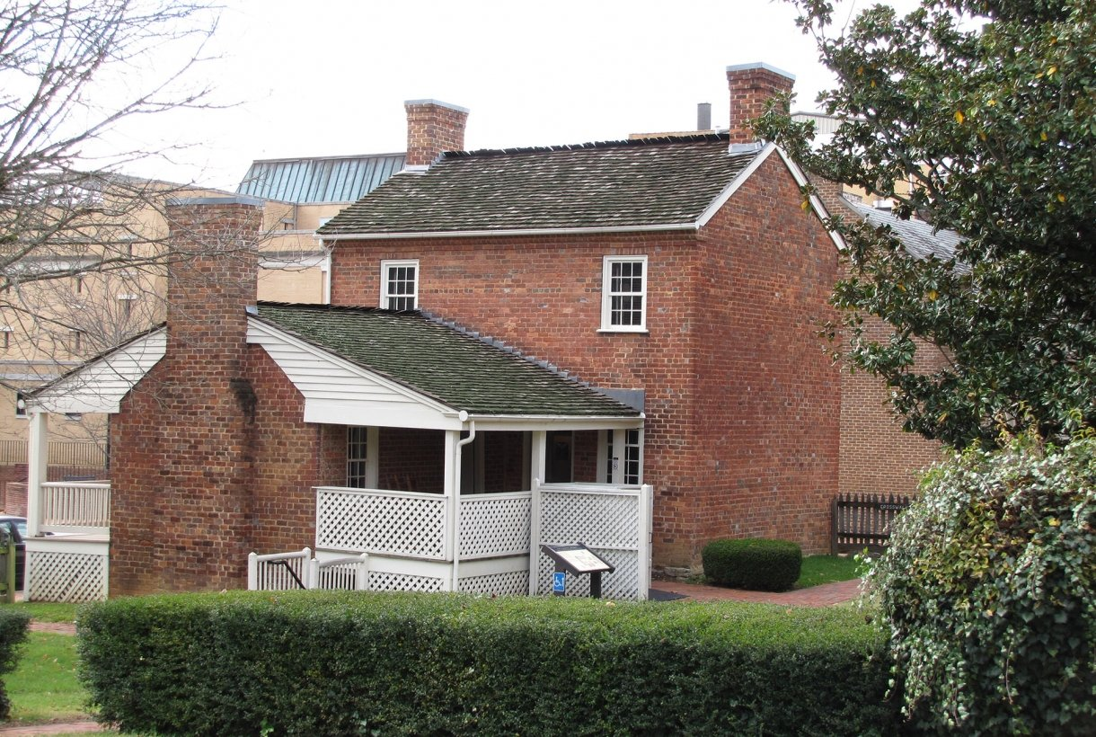 Andrea Johnson's brick house