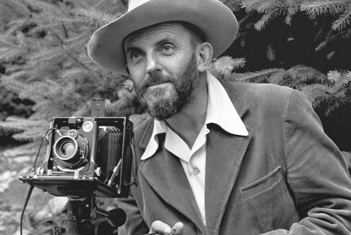 Photographer Ansel Adams