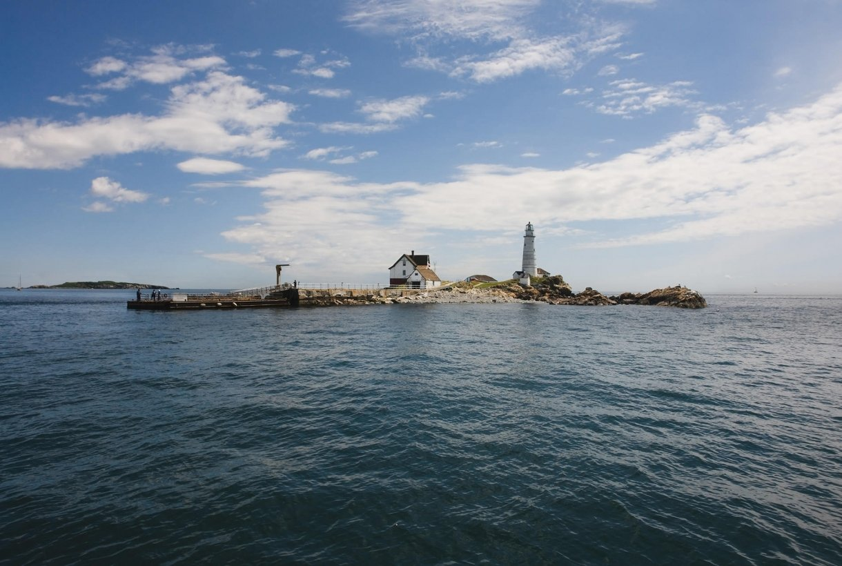Little Brewster Island, one of the Boston Harbor Islands
