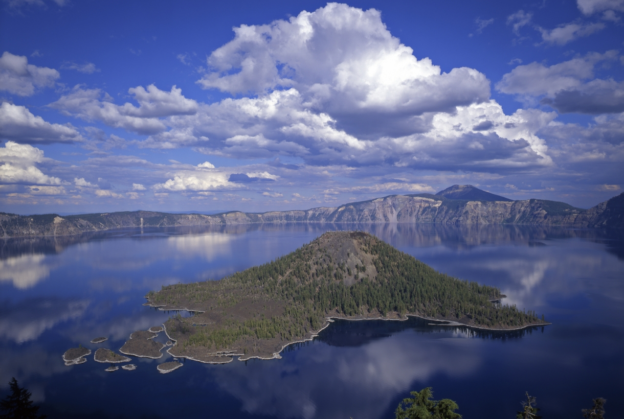 Island in Crater Lake National Park