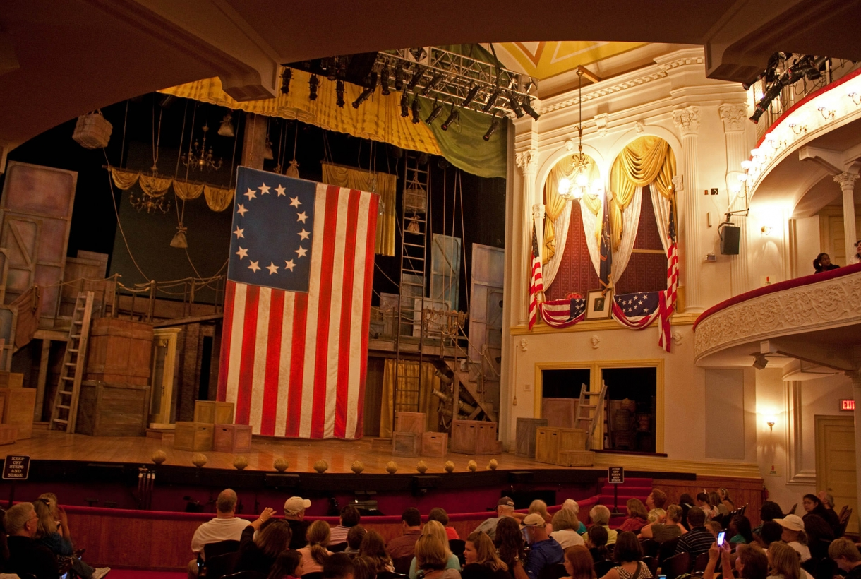 Theatre interior at Ford's Theatre National Historic Site