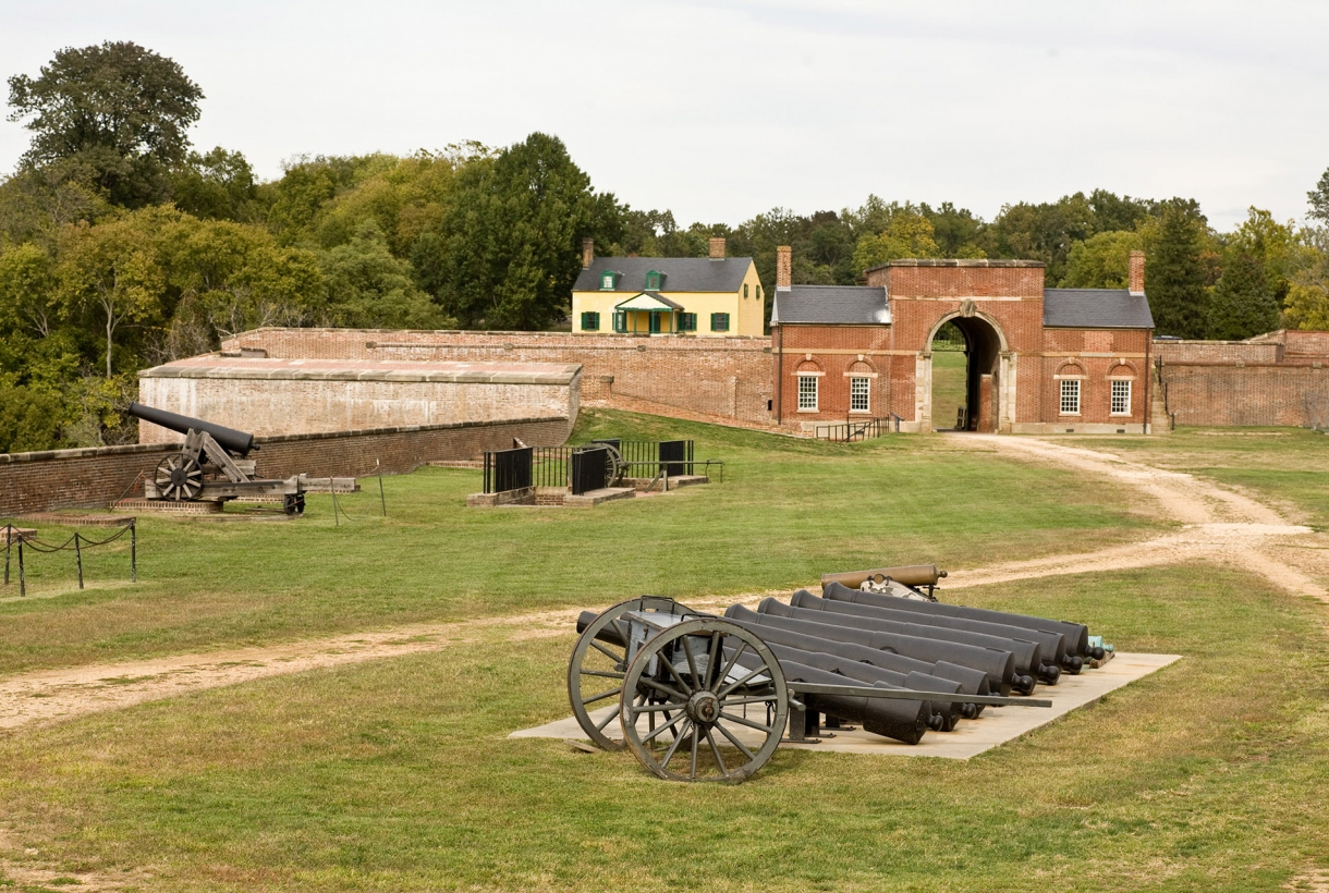 Fort Washington Park cannons