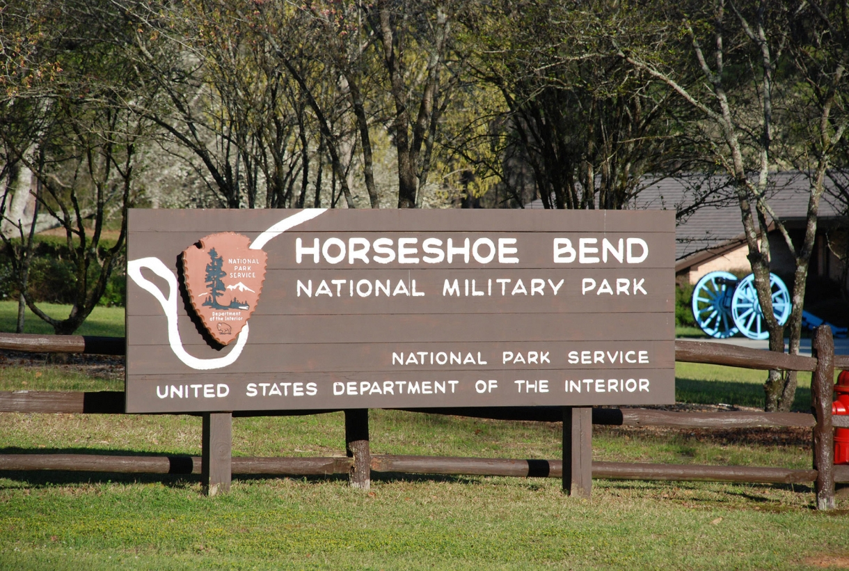 Welcome Horseshoe Bend park