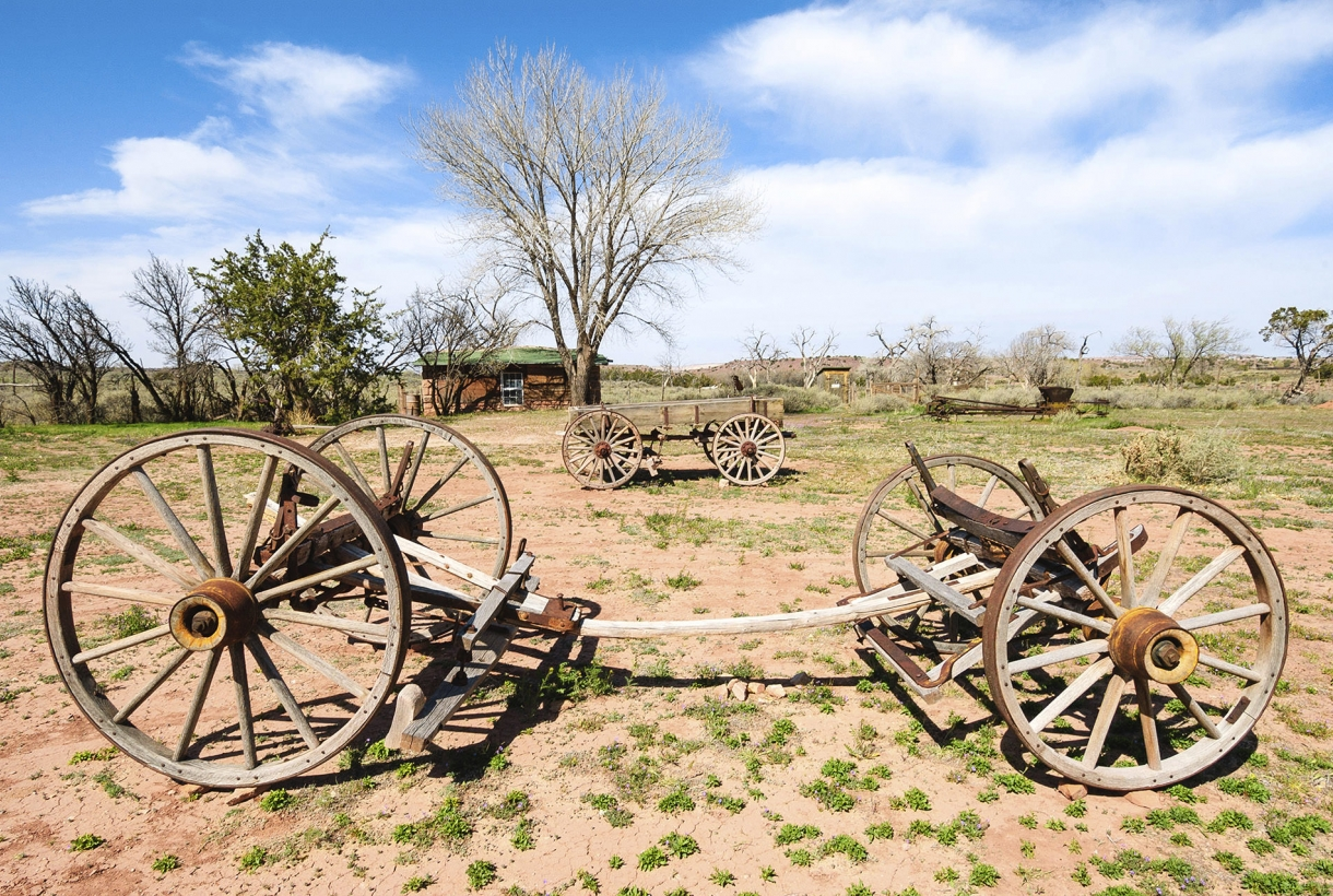 Hubbell trading post wagons
