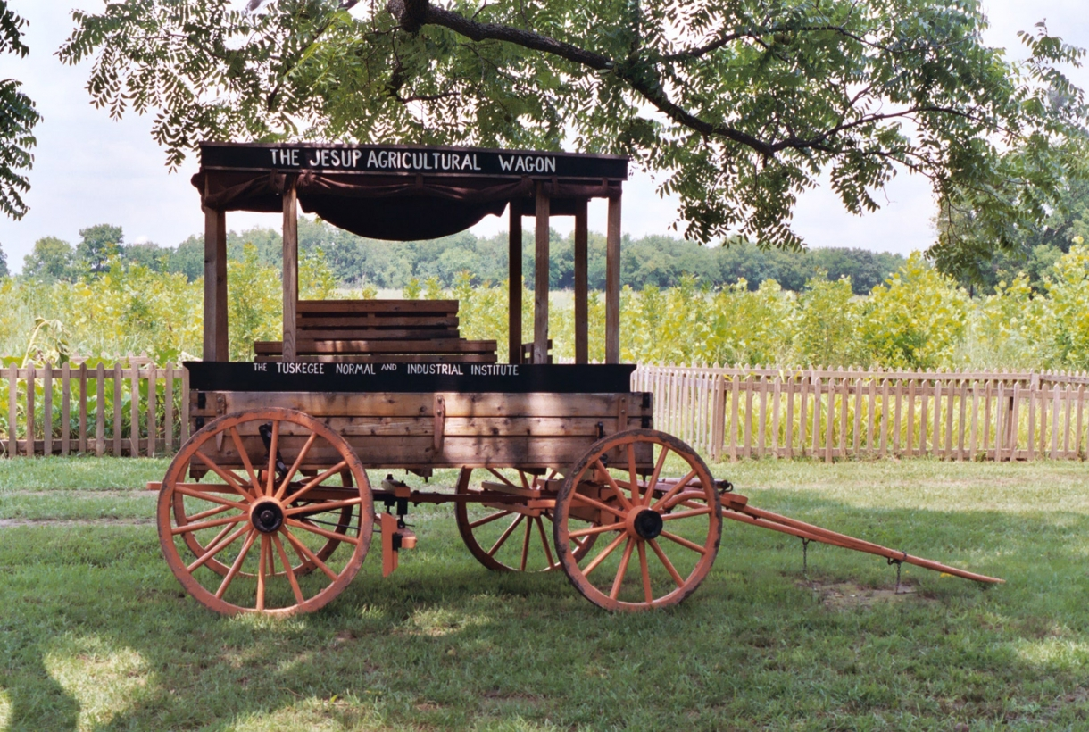 George Washington Carver's agricultural wagon