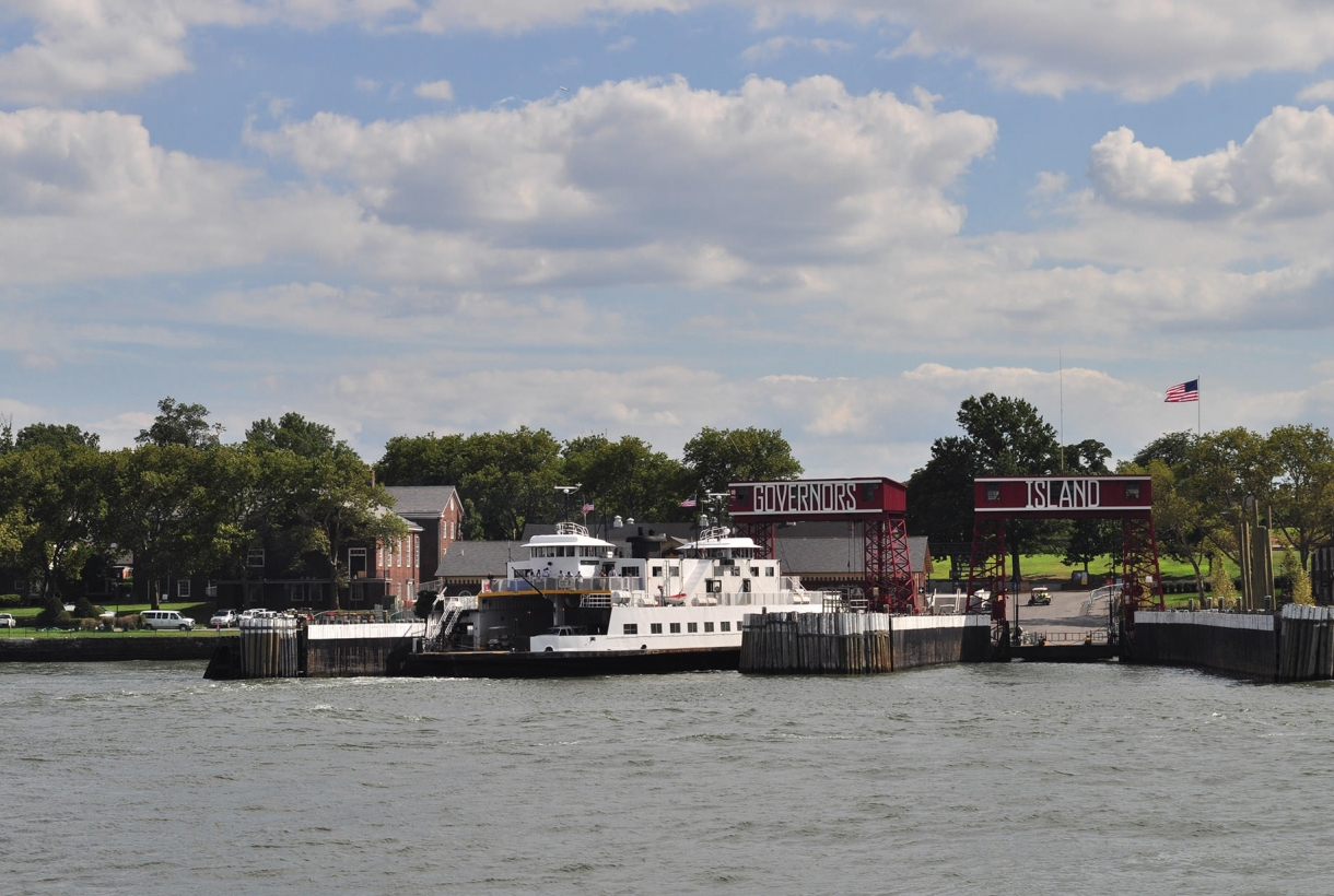 Governors Island ferry boat