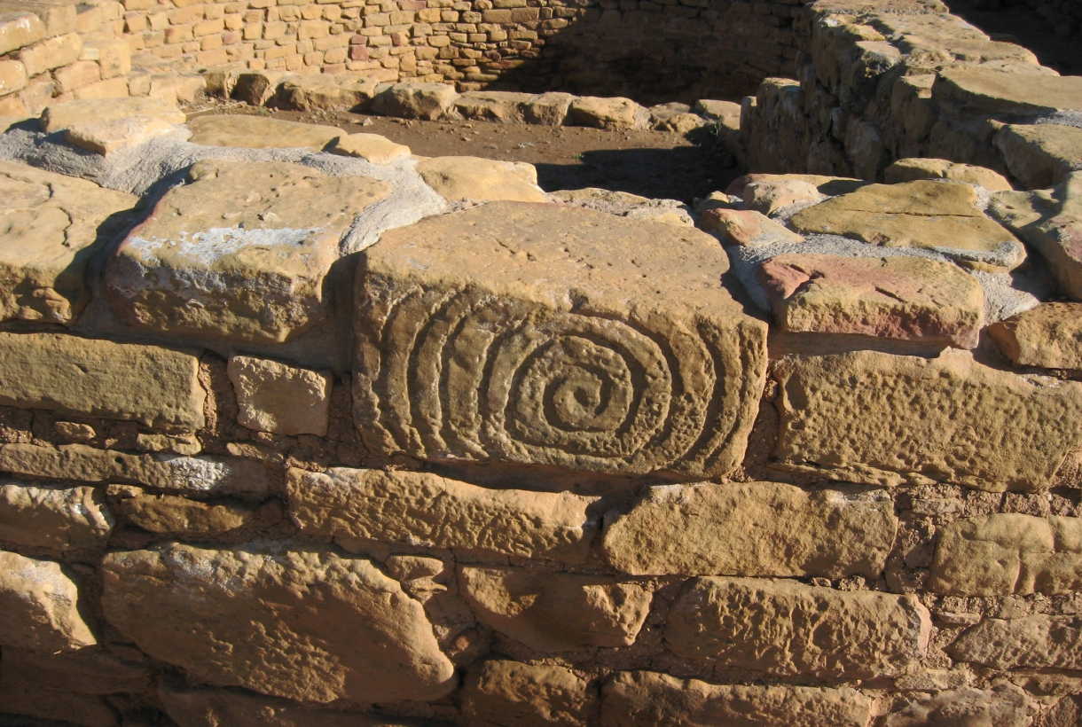 Detail of Hopi ruins