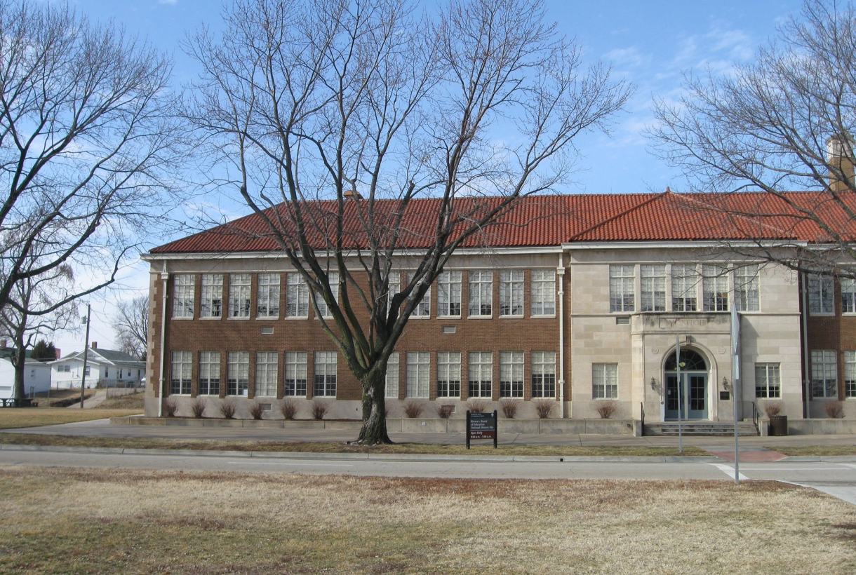 Monroe School at the Brown V. Board of Education National Historic Site