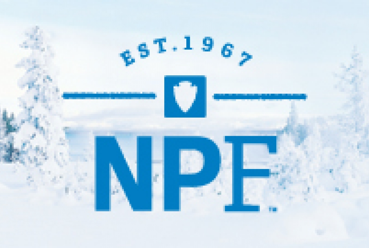 "NPF logo, ""Established 1967 NPF"""