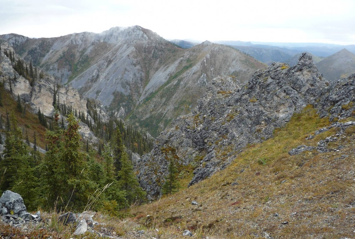 Image of Yukon National Park's Squaw Mountain Range