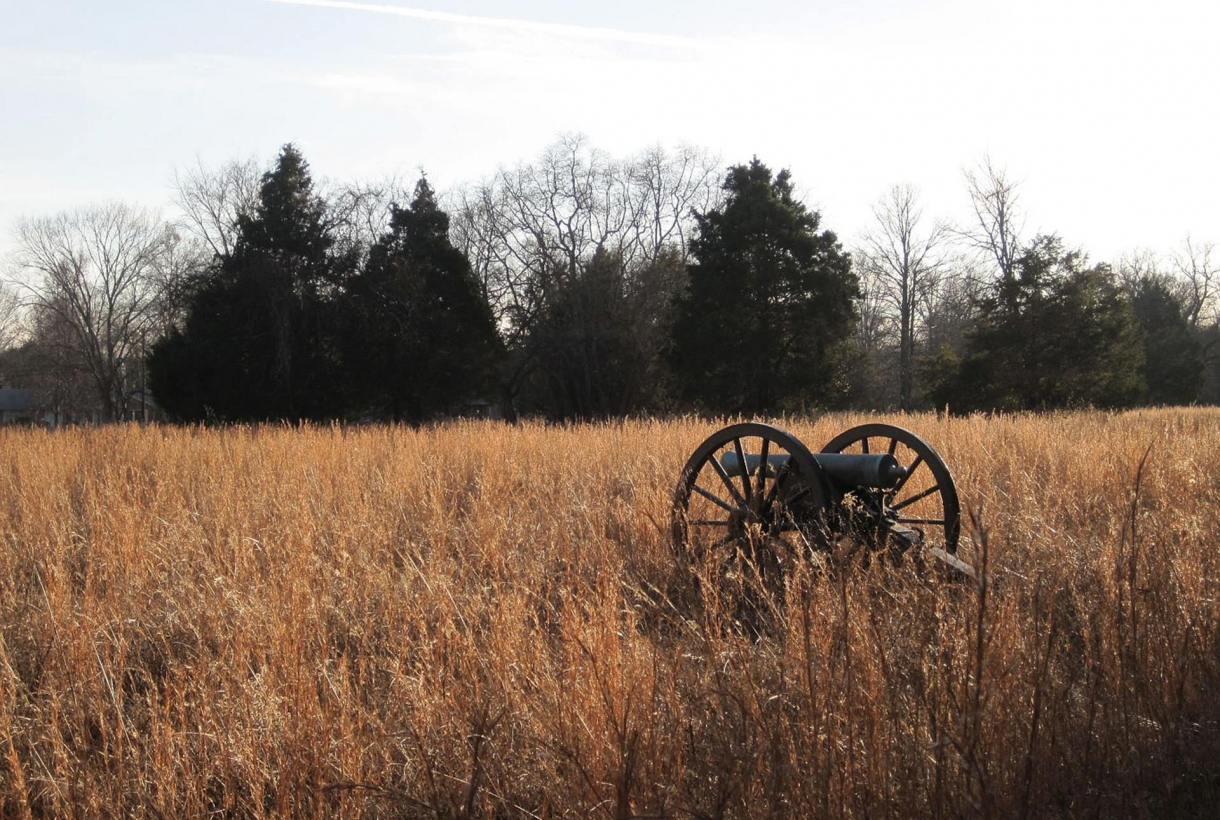 Canon at Stones River Battlefield