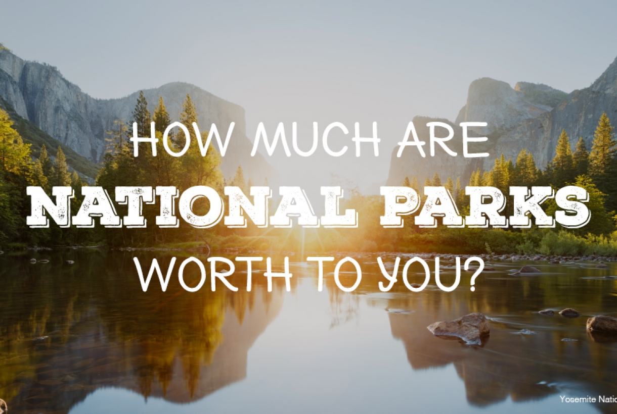 """How Much Are National Parks Worth To You?"""