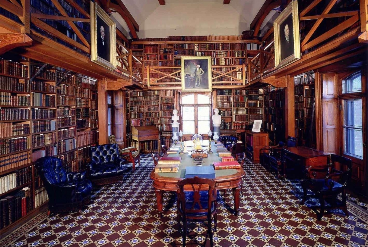 Library at Adams National Historical Park