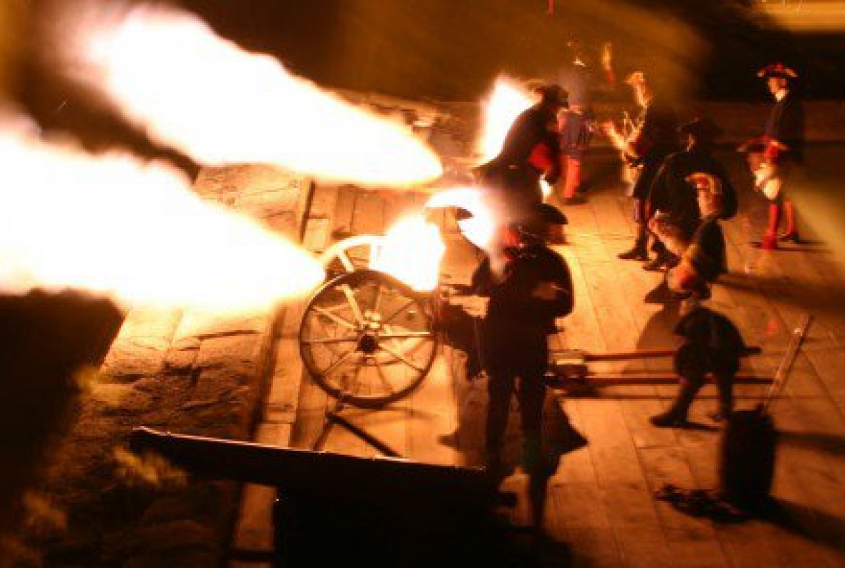 Historic weapons demonstrations at Castillo de San Marcos
