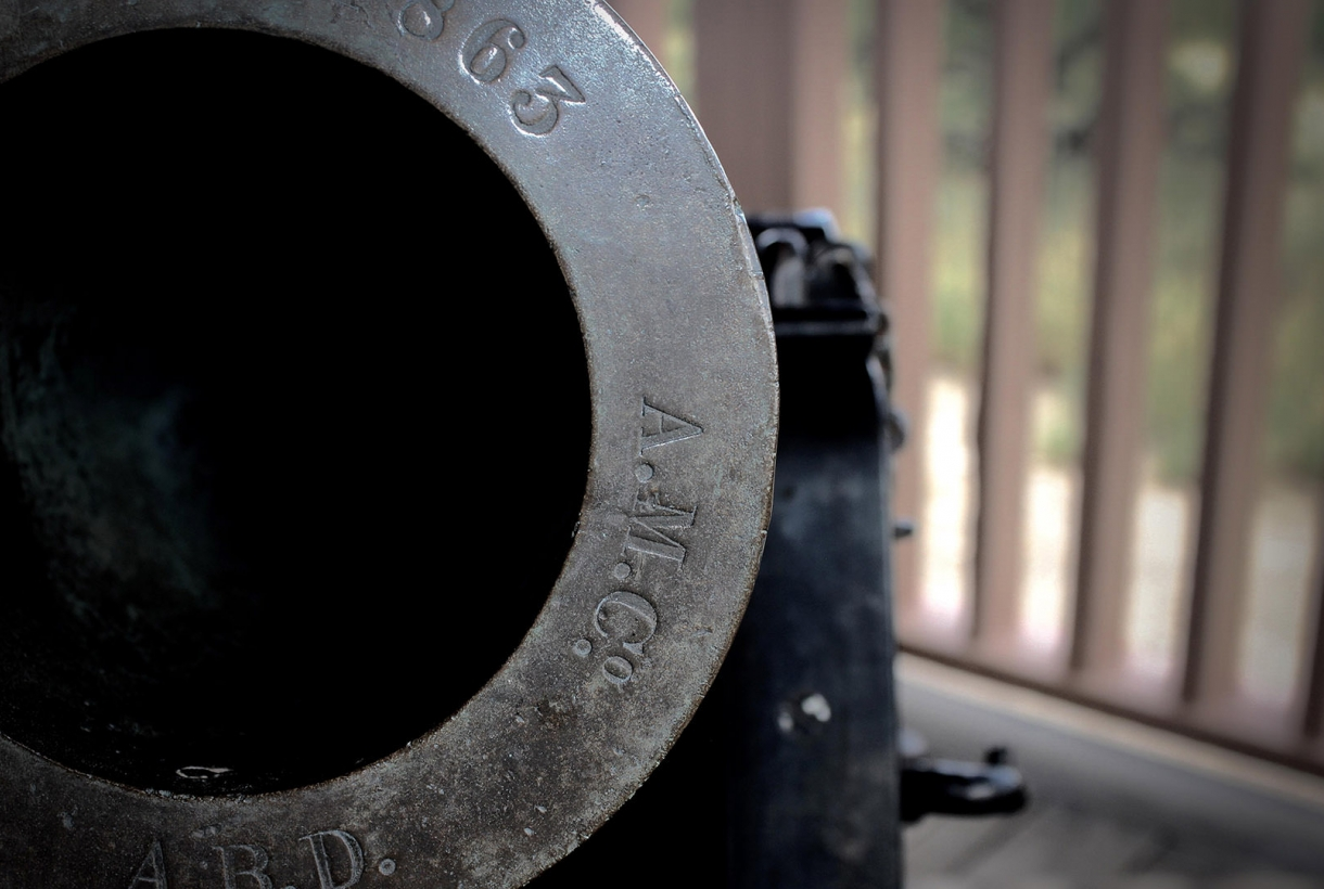 Cannon at Fort Bowie National Historic Site