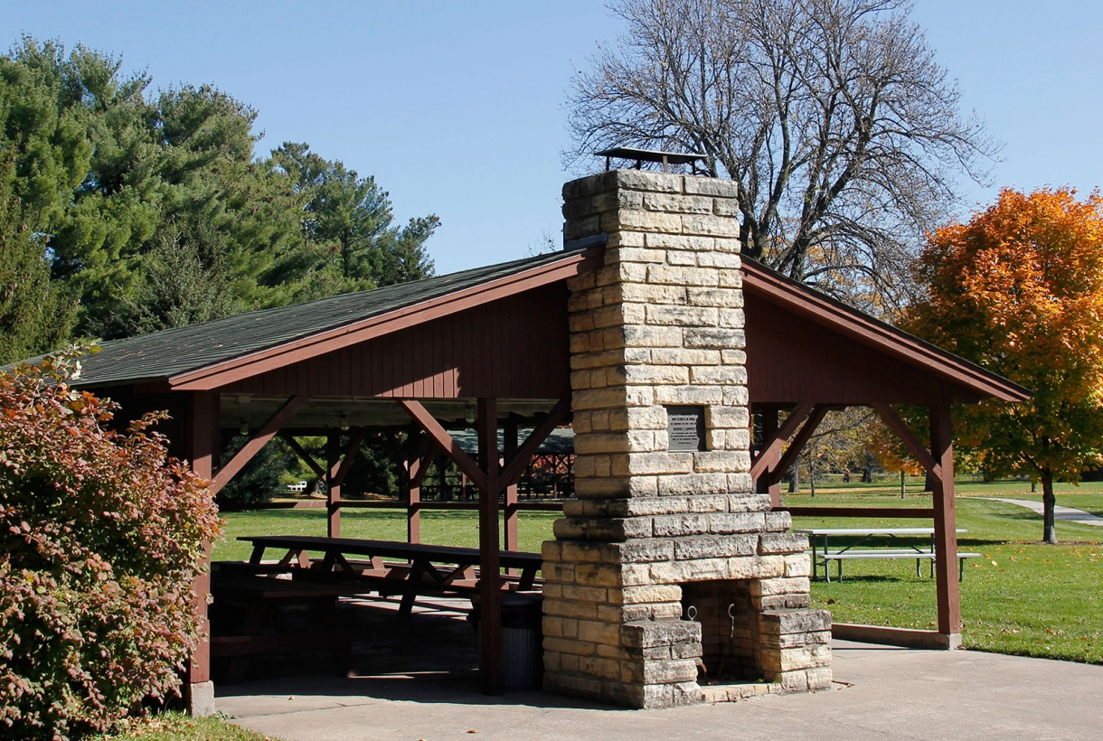 Boy Scout Picnic Shelter at Herbert Hoover National Historic Site