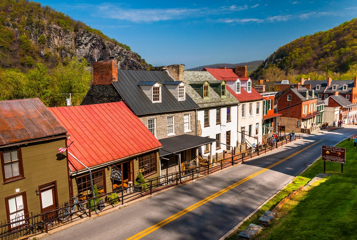 Downtown Harpers Ferry