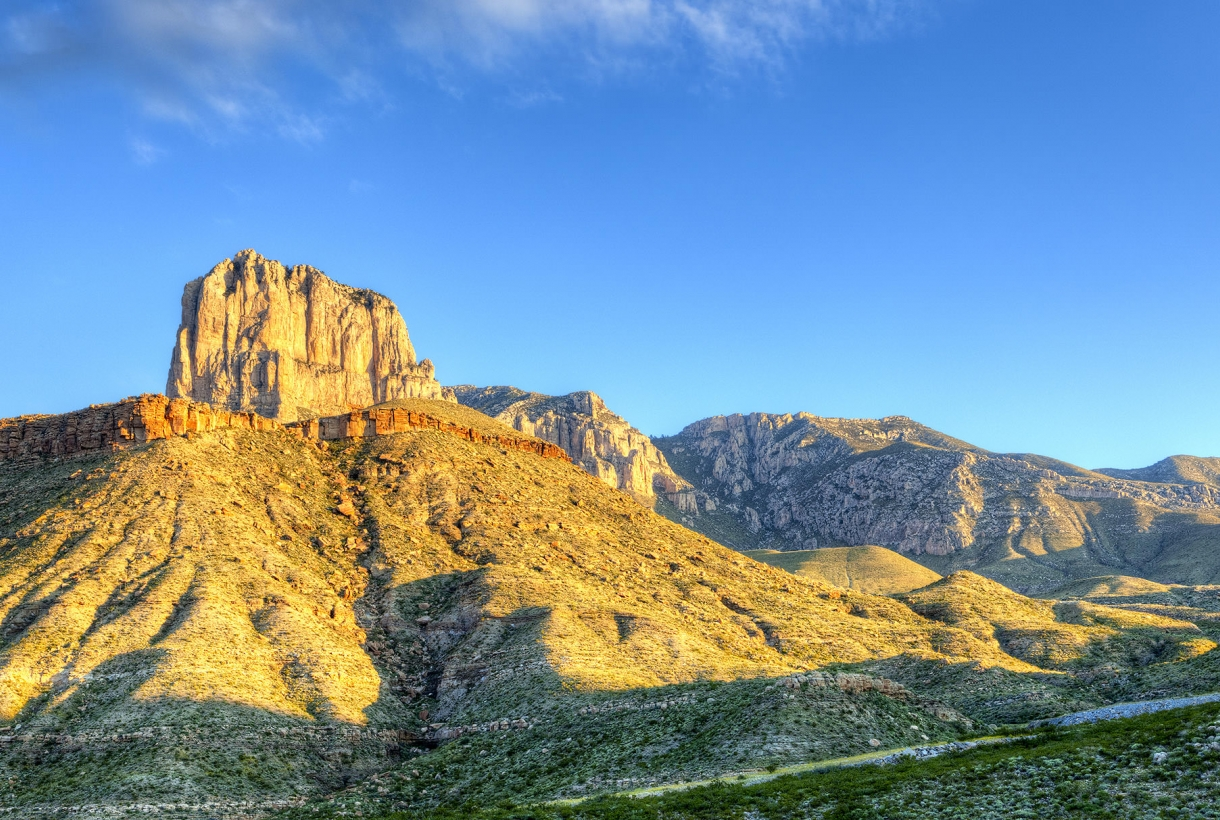 Guadalupe Mountains Park view