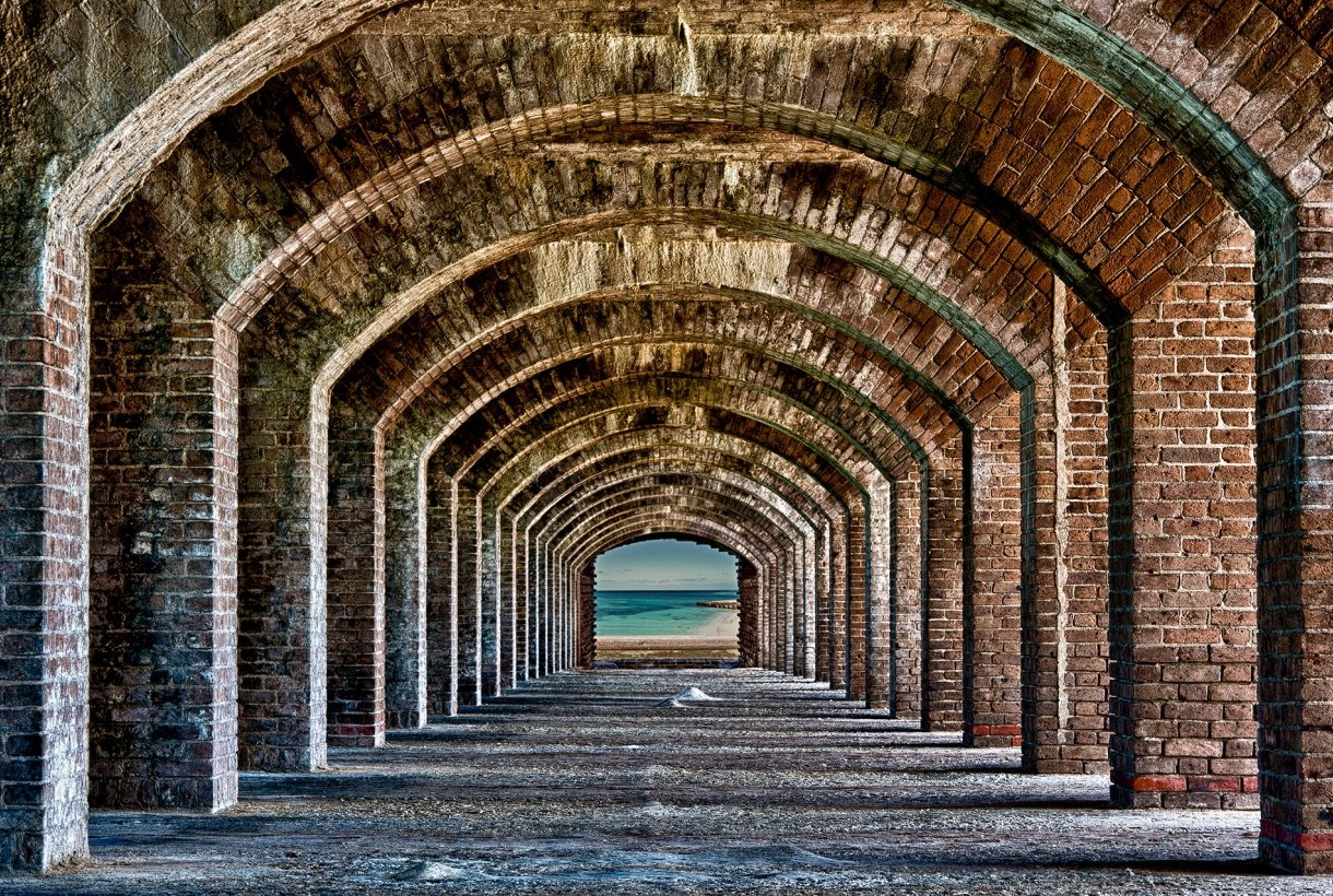 Walkway at Dry Tortugas National Park