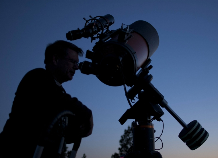 Backyard astronomy in the parks