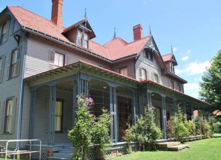 Front exterior of the James A. Garfield National Historic Site