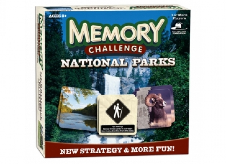 Image of National Parks Edition Memory Board Game