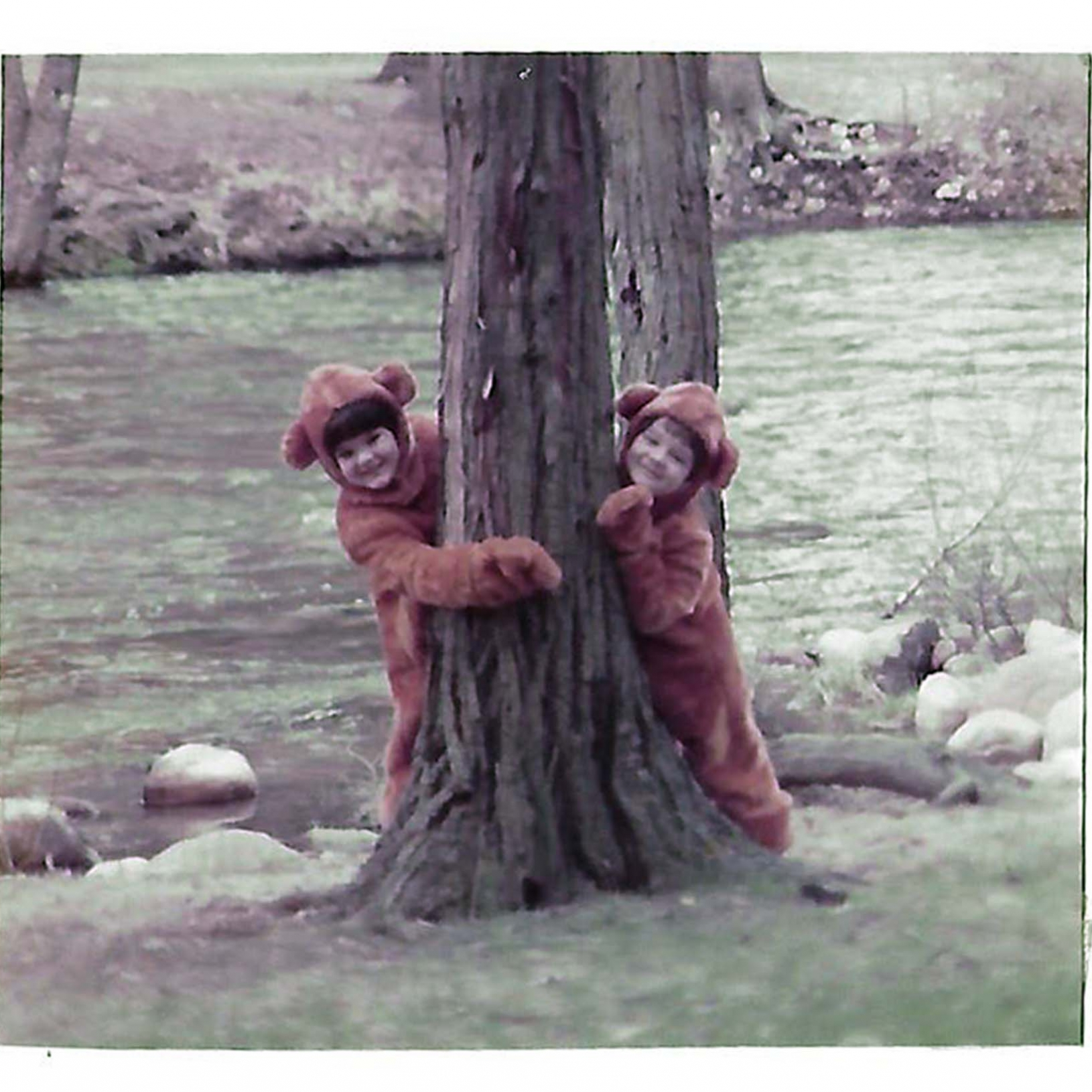 1984 Spring in Yosemite...with the little bears.