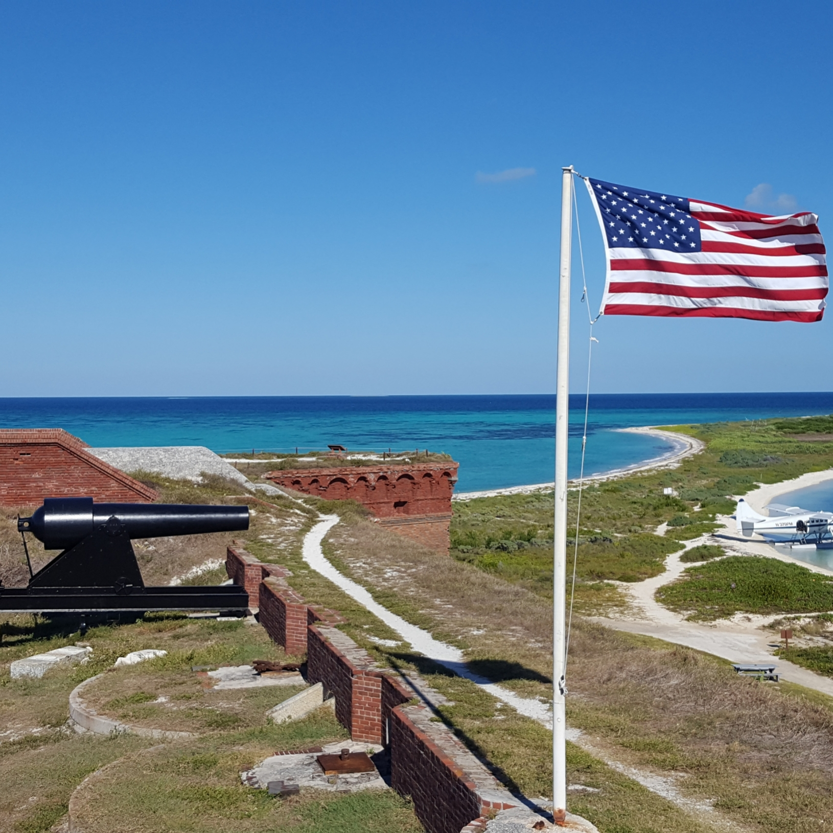 Greg P. at Dry Tortugas National Park