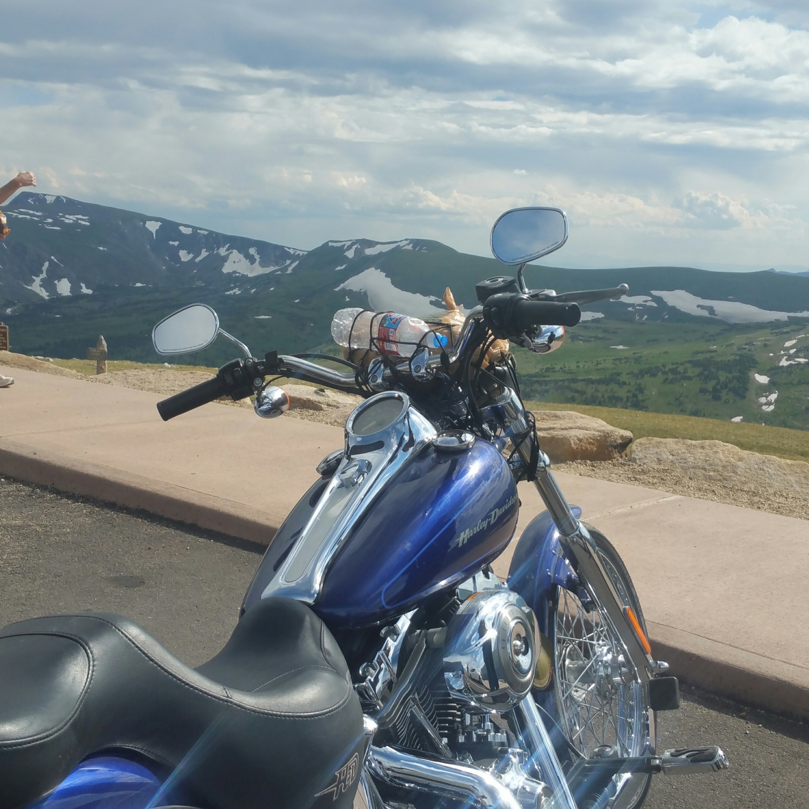 Ride to the top!!