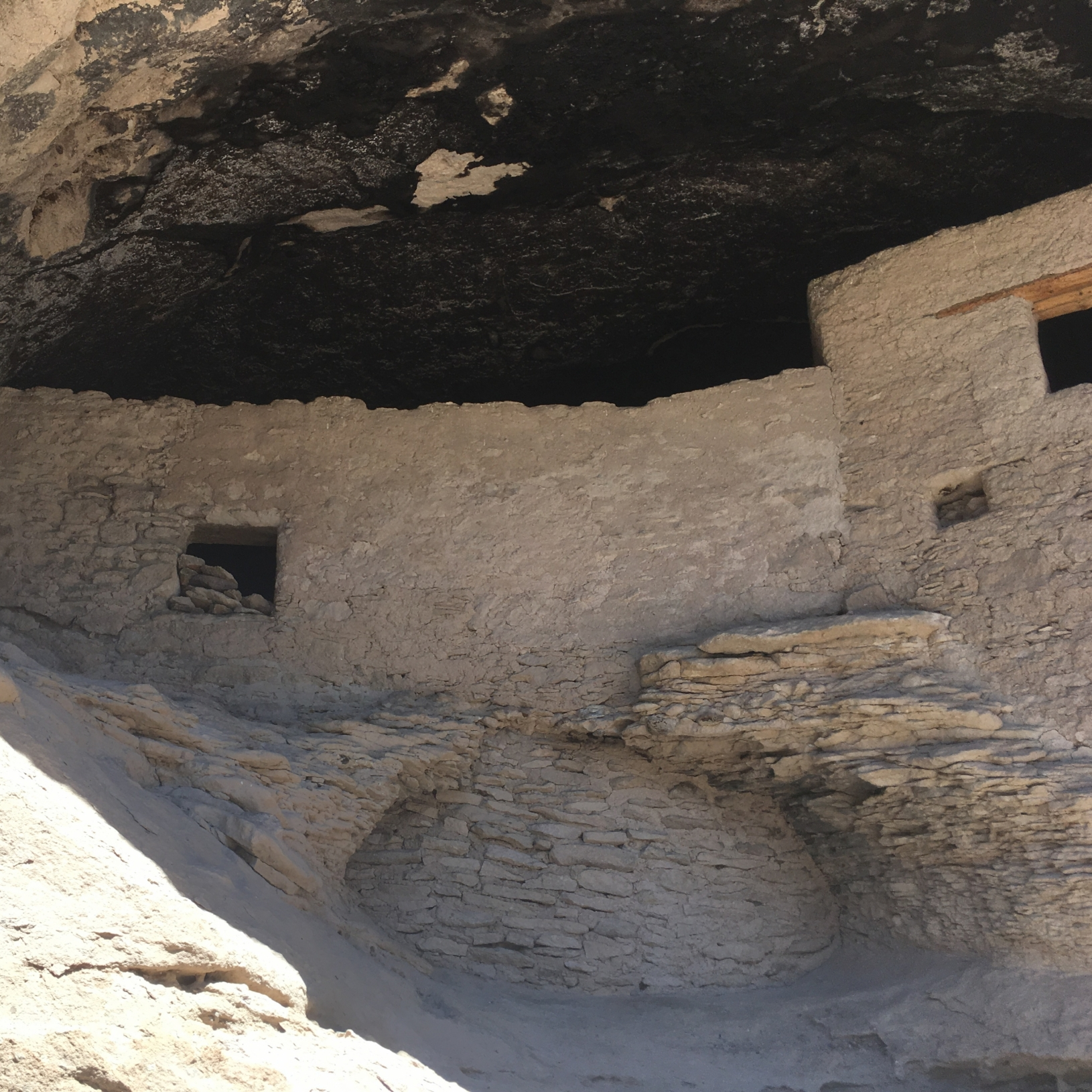 Cliff dwelling at Gila