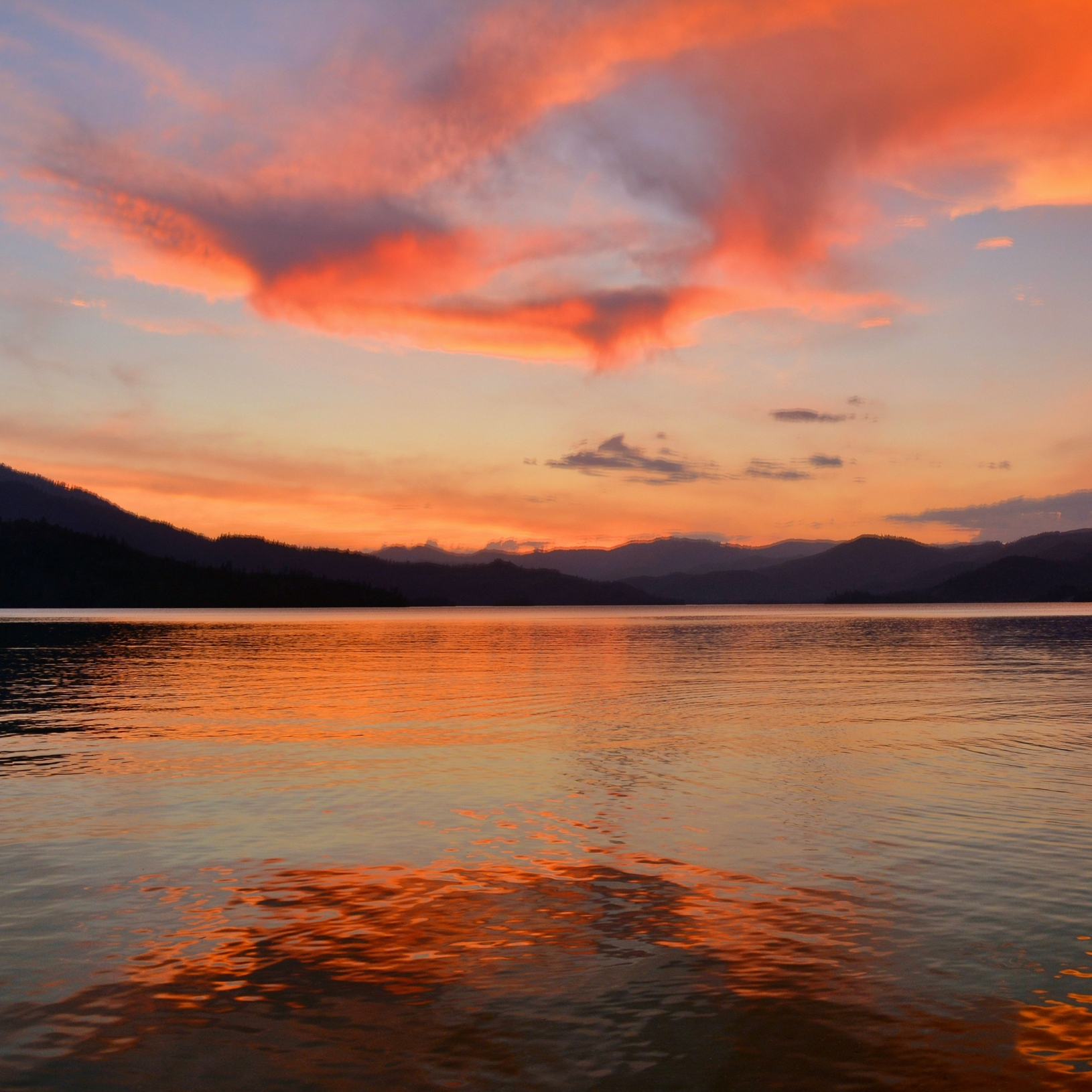 Fire in the Sky at Whiskeytown