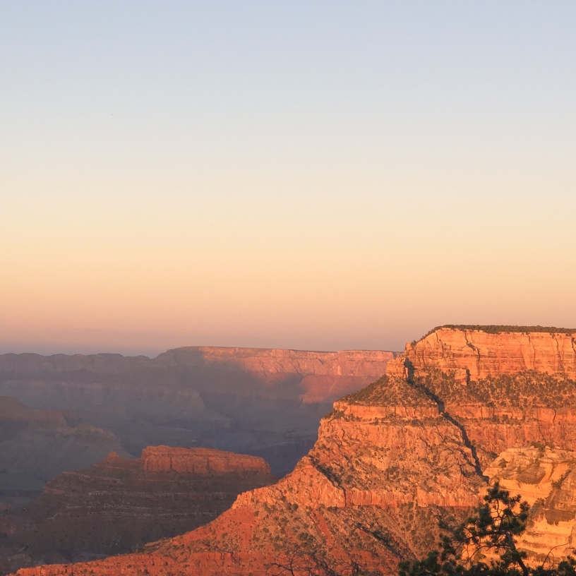 Sunset in Grand Canyon National Park - South rim