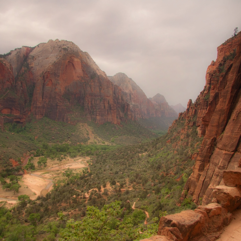 Angels Landing at Zion National Park