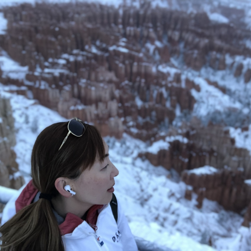 Bryce canyon in snow