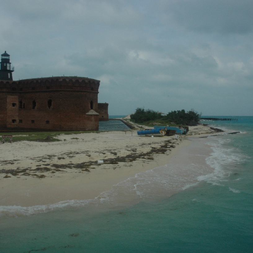 Short ferry ride from Key West to Fort Jefferson in the Dry Tortugas