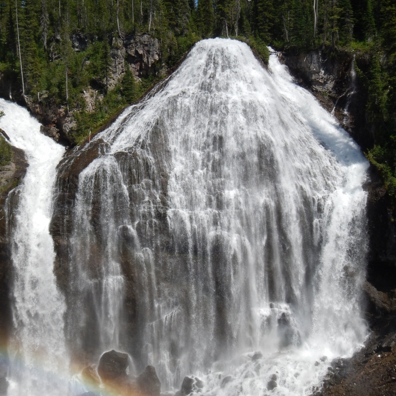 Union Falls - Yellowstone National Park