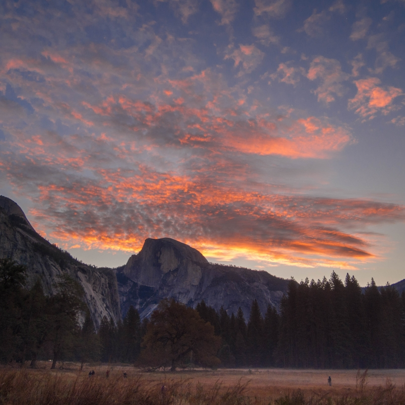 Yosemite Sunrise.