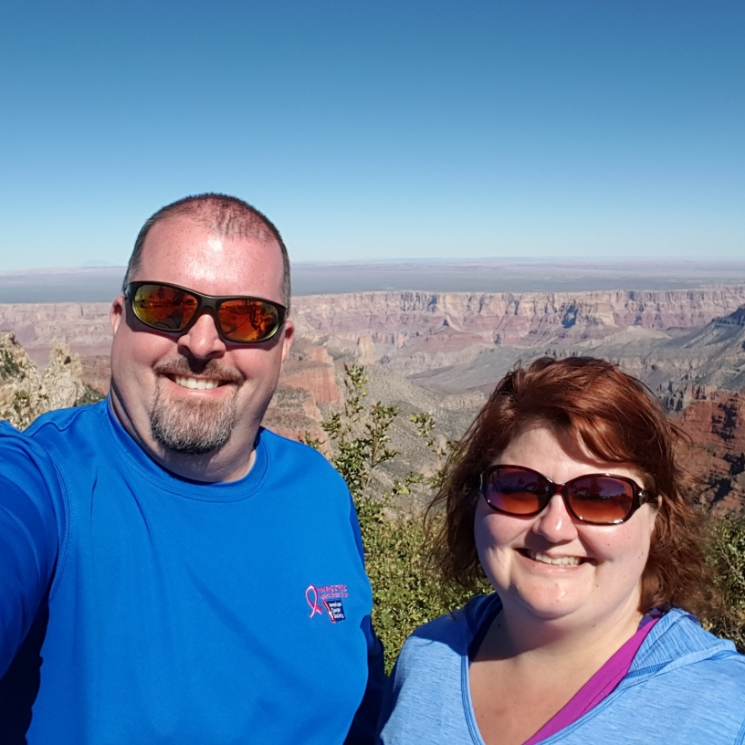 Margot and Jason Phelps - Grand Canyon National Park, 2016