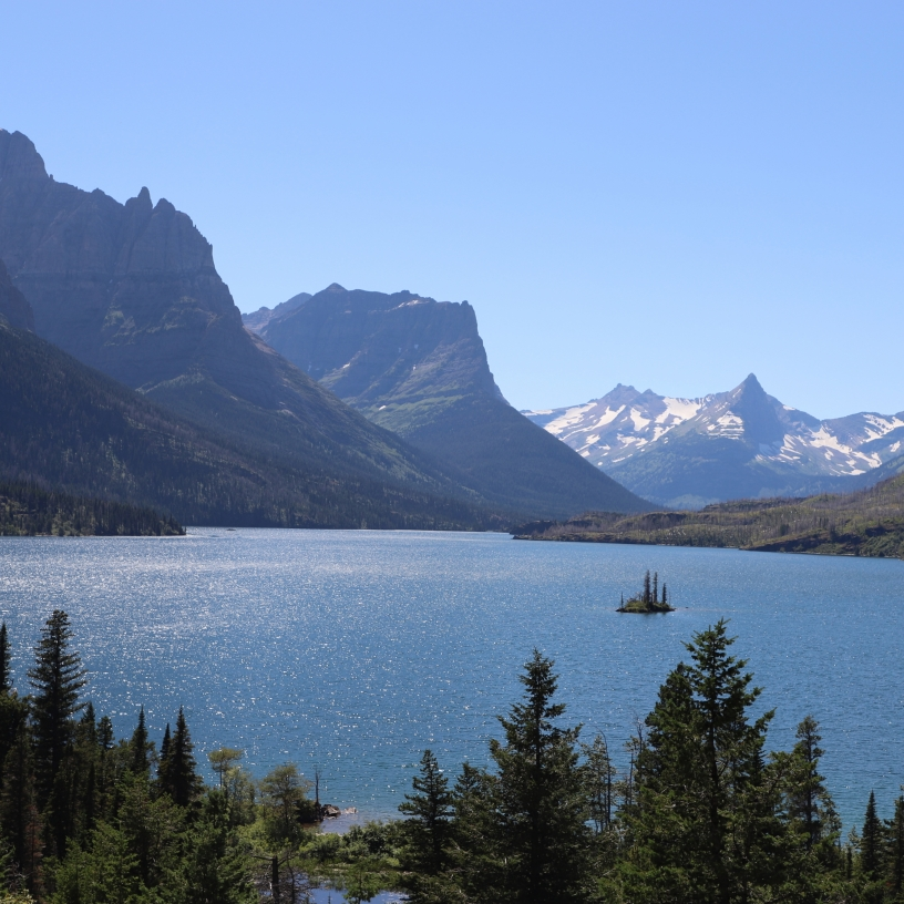 Unretouched view of Wild Goose Island