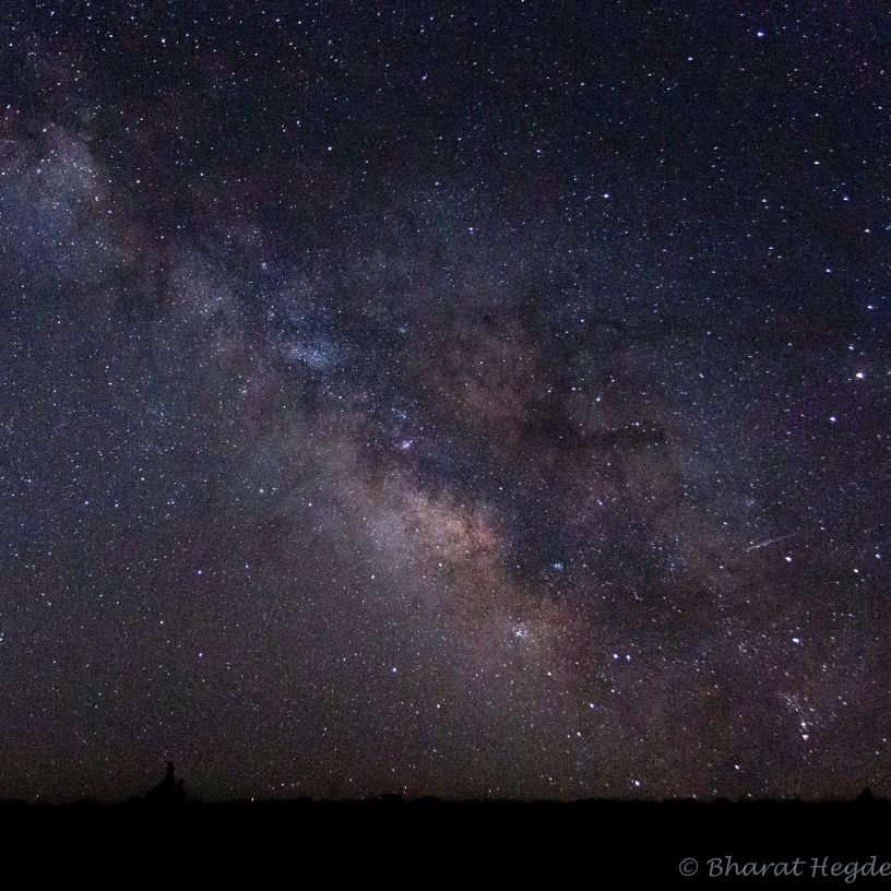 milky way, capitol reef